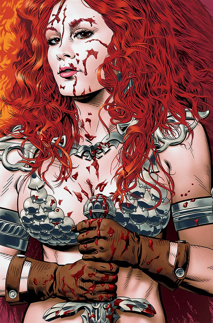 Red Sonja Price Of Blood #3 Cover O Limited Edition Michael Golden Virgin Cover