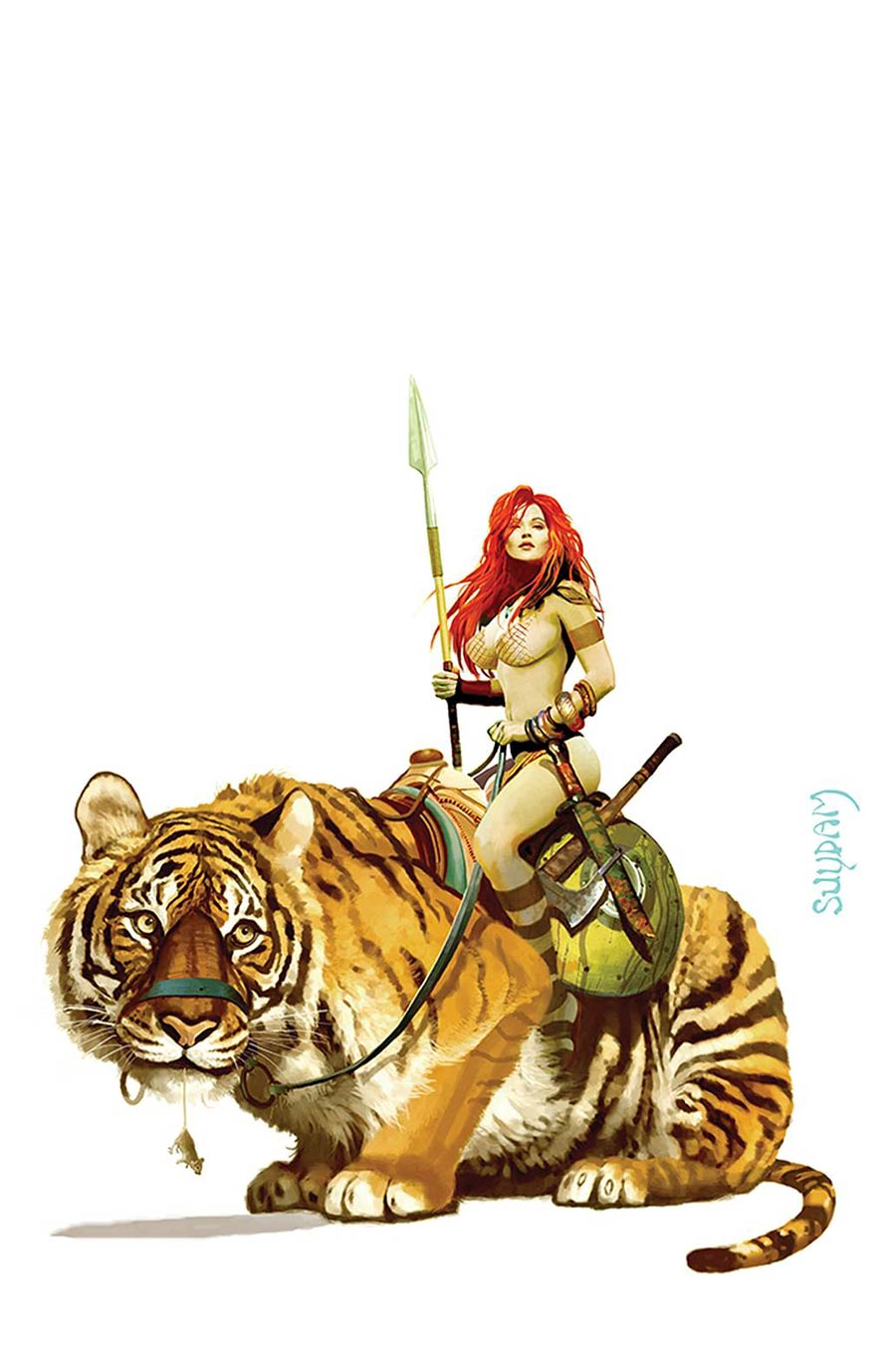 Red Sonja Price Of Blood #3 Cover Q Limited Edition Arthur Suydam Virgin Cover