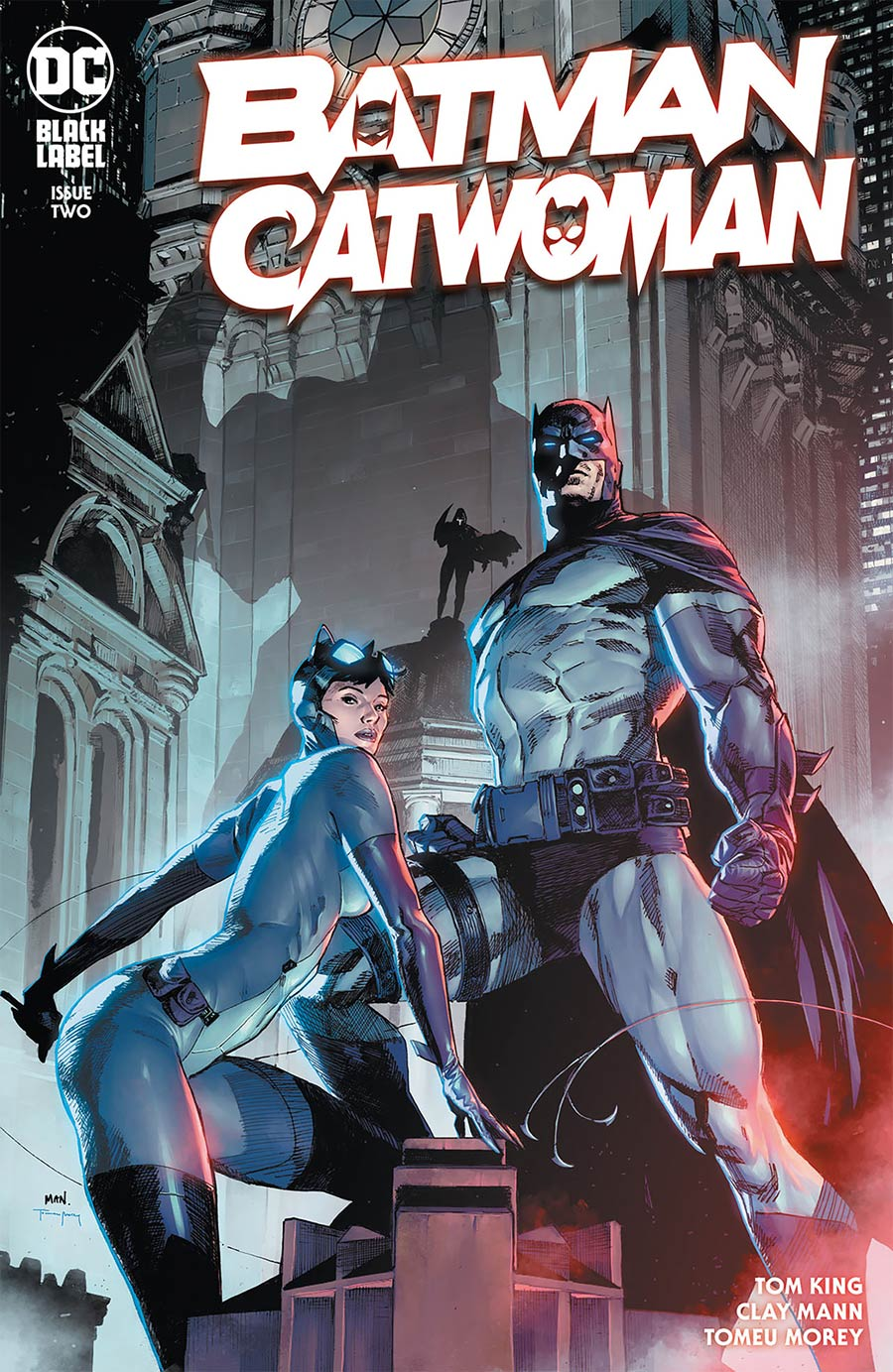 Batman Catwoman #2 Cover E DF Jim Lee & Scott Williams Variant Cover Signed By Scott Williams