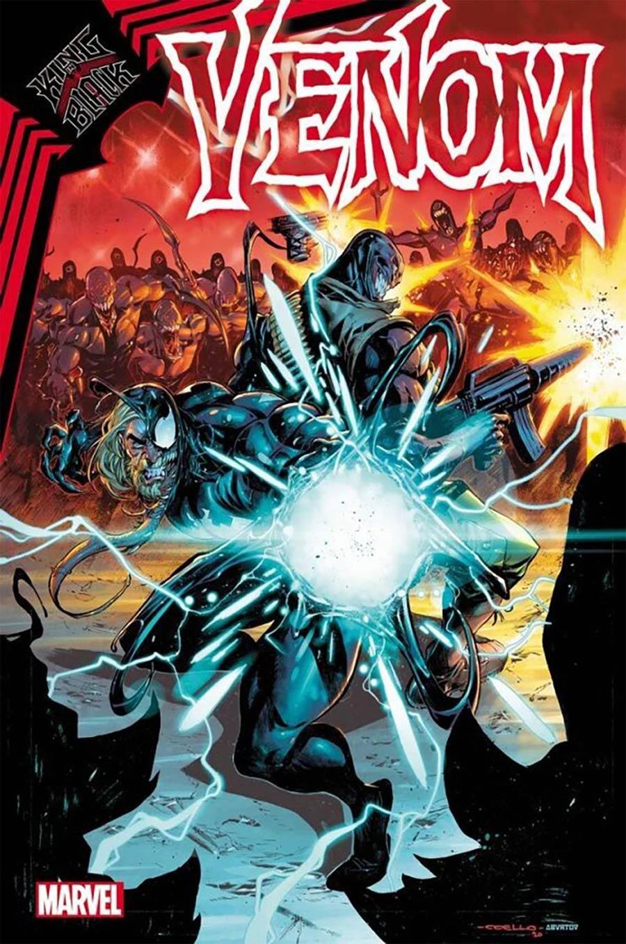Venom Vol 4 #32 Cover E DF Signed By Donny Cates (King In Black Tie-In)