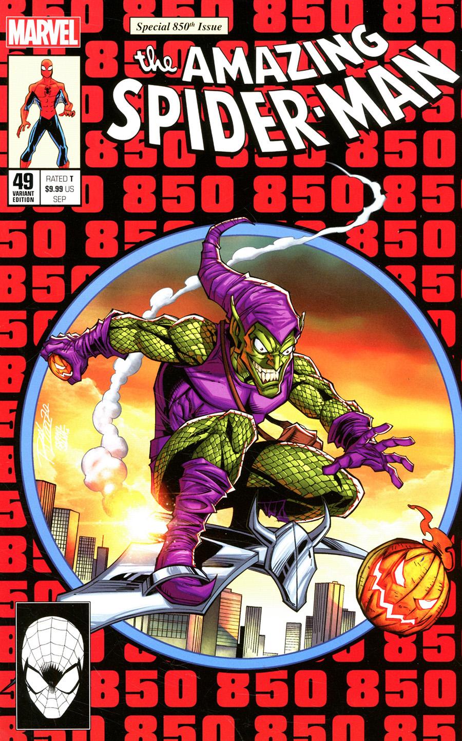 Amazing Spider-Man Vol 5 #49 Cover U DF Exclusive Ron Lim Homage Variant Cover (#850)