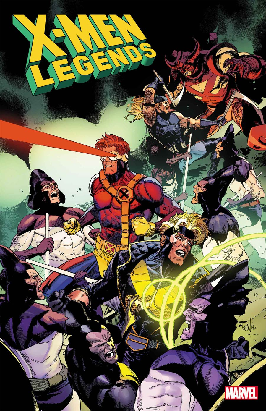 X-Men Legends #1 Cover F Incentive Leinil Francis Yu Variant Cover