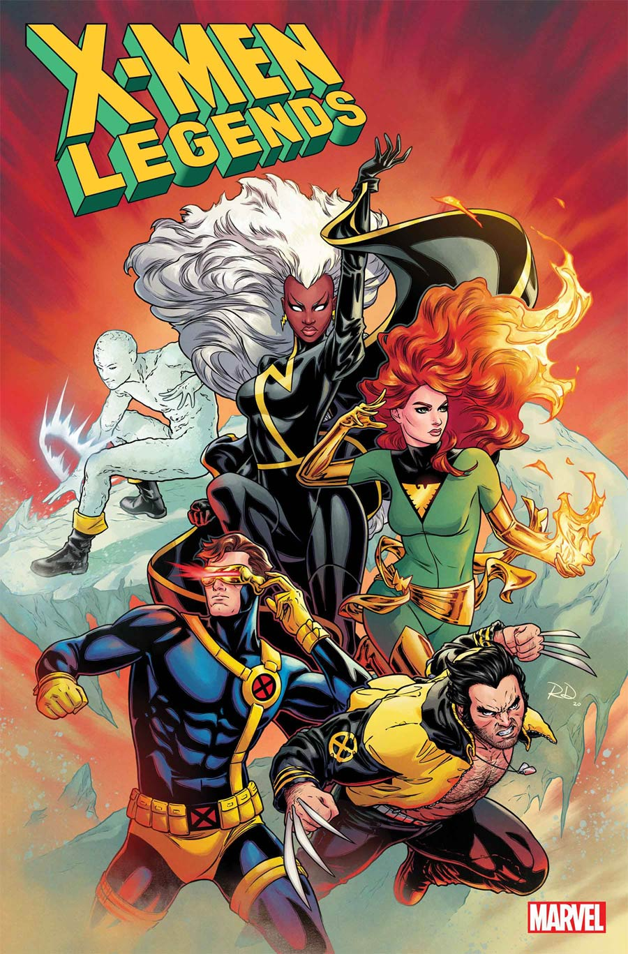 X-Men Legends #1 Cover E Incentive Russell Dauterman Variant Cover