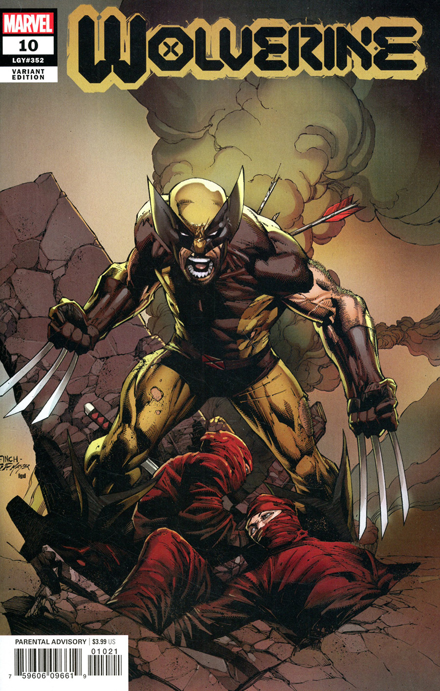Wolverine Vol 7 #10 Cover C Incentive David Finch Wolverine Variant Cover