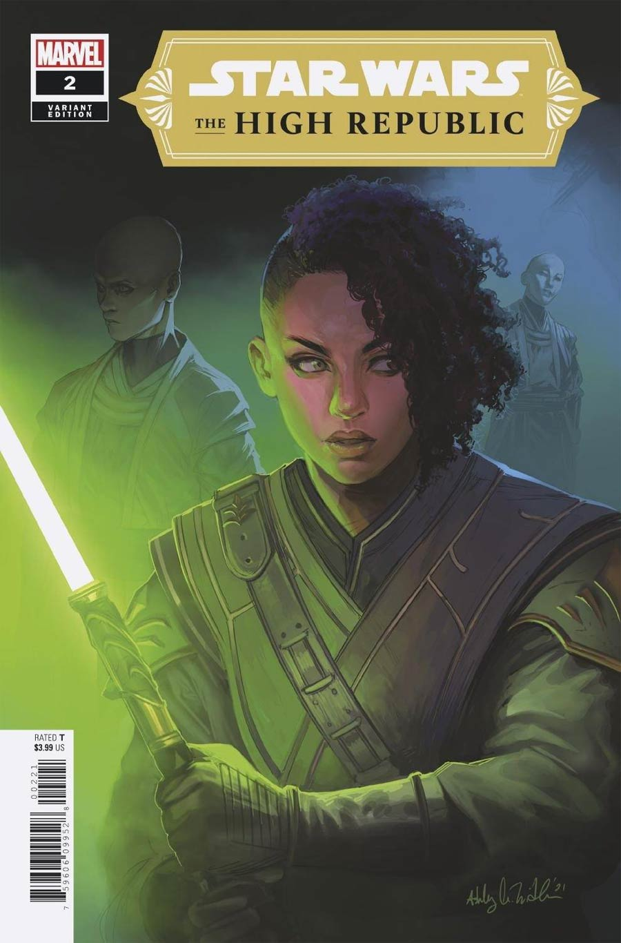 Star Wars High Republic #2 Cover B Incentive Ashley Witter Variant Cover