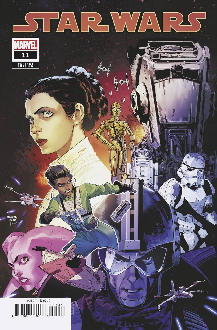 Star Wars Vol 5 #11 Cover D Incentive Dan Mora Variant Cover