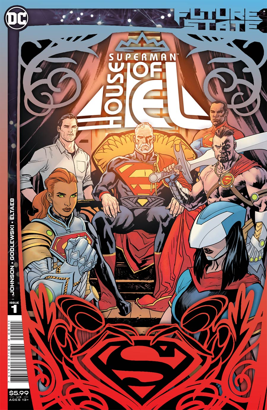 Future State Superman House Of El One Shot Cover A Regular Yanick Paquette Cover