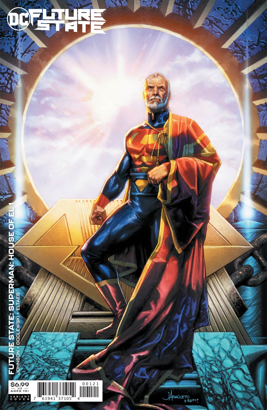 Future State Superman House Of El One Shot Cover B Variant Jay Anacleto Card Stock Cover