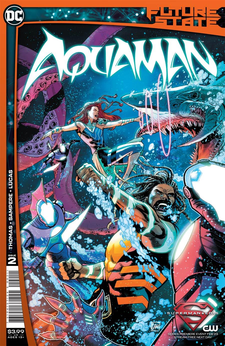 Future State Aquaman #2 Cover A Regular Daniel Sampere Cover