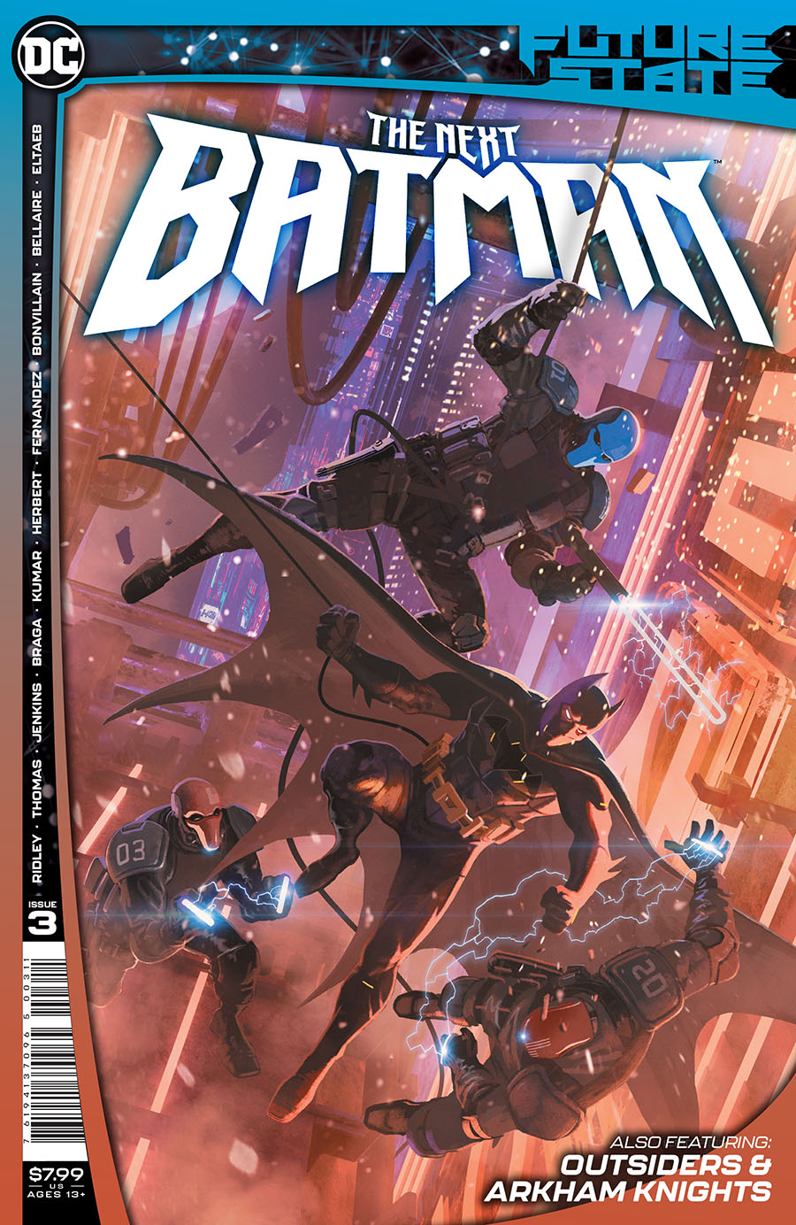Future State The Next Batman #3 Cover A Regular Ladronn Cover