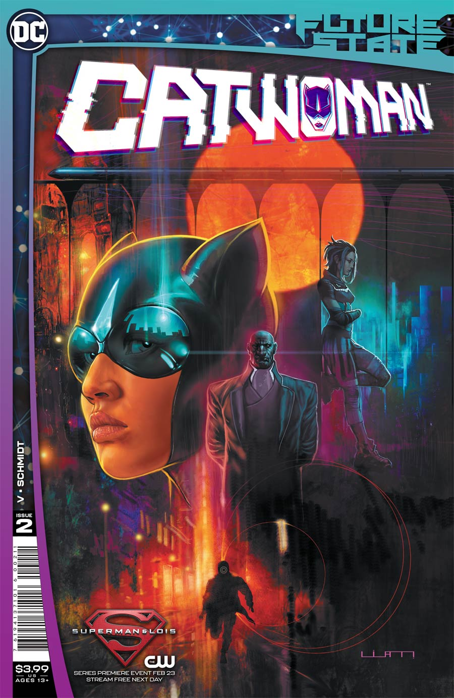 Future State Catwoman #2 Cover A Regular Liam Sharp Cover