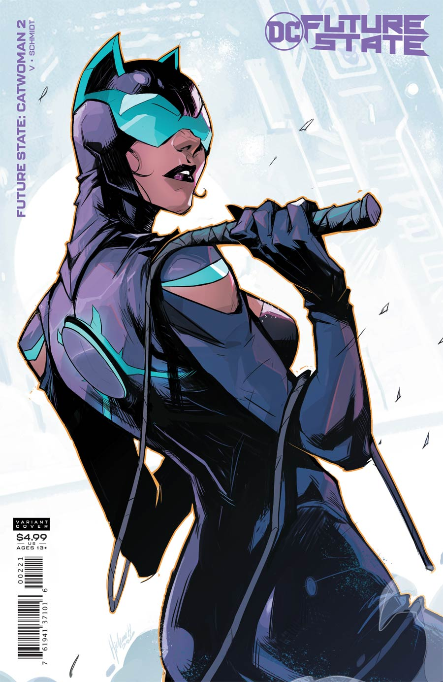 Future State Catwoman #2 Cover B Variant Hicham Habchi Card Stock Cover