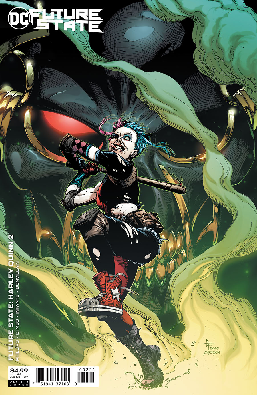 Future State Harley Quinn #2 Cover B Variant Gary Frank Card Stock Cover