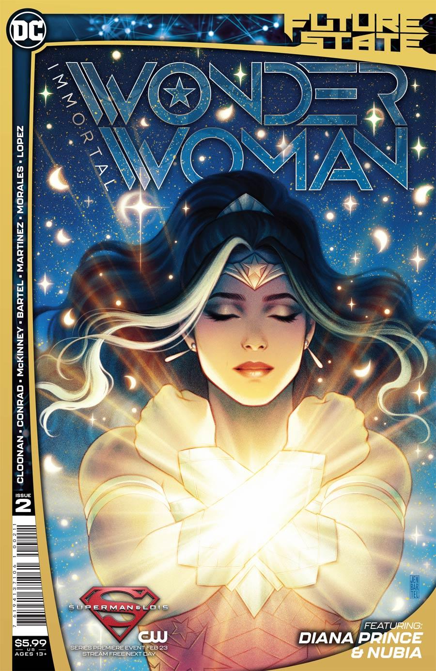 Future State Immortal Wonder Woman #2 Cover A Regular Jen Bartel Cover