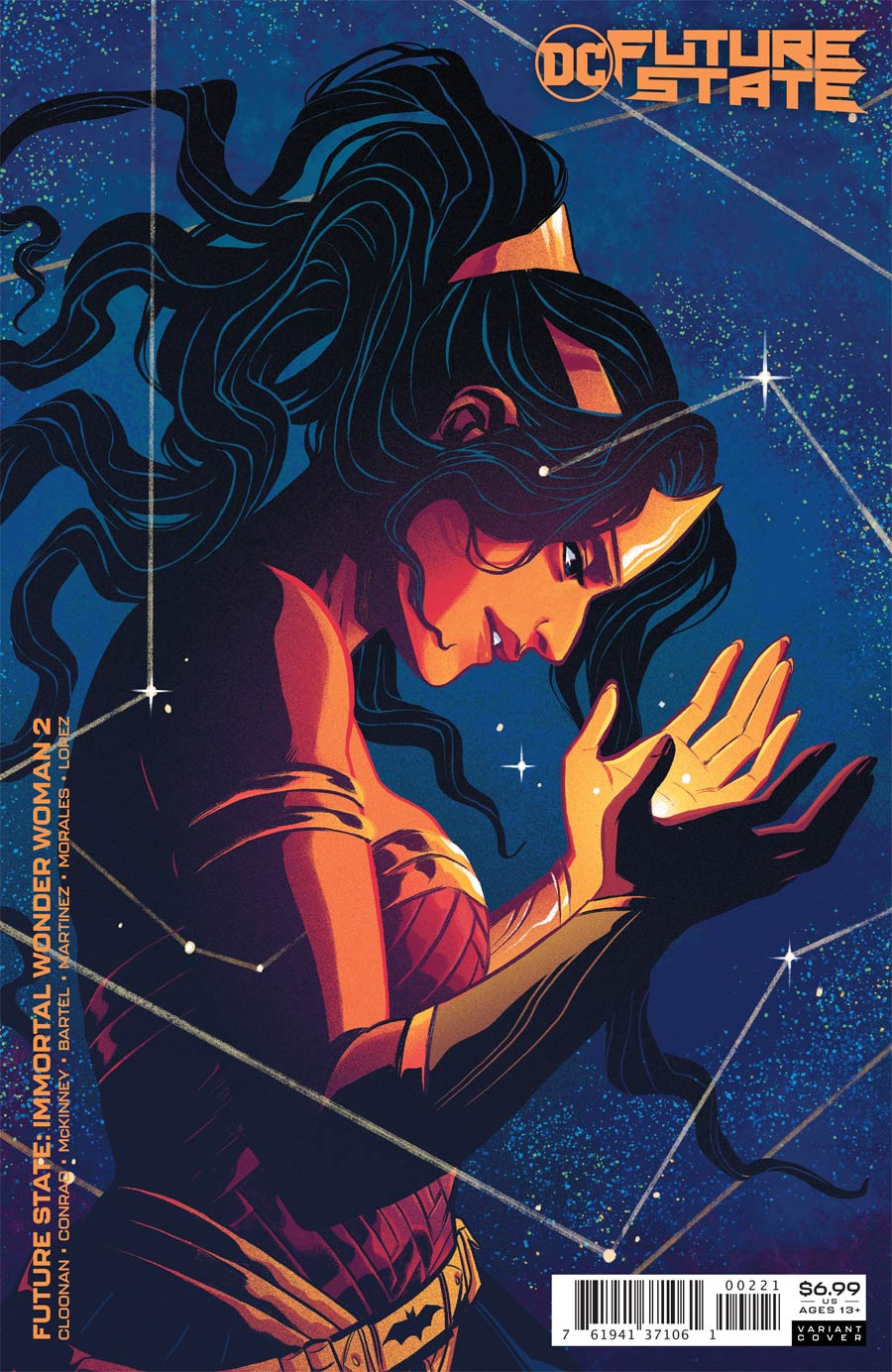 Future State Immortal Wonder Woman #2 Cover B Variant Becky Cloonan Card Stock Cover