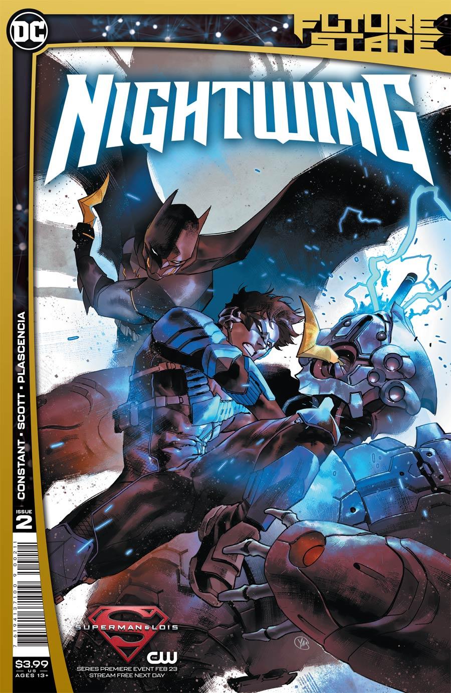 Future State Nightwing #2 Cover A Regular Yasmine Putri Cover