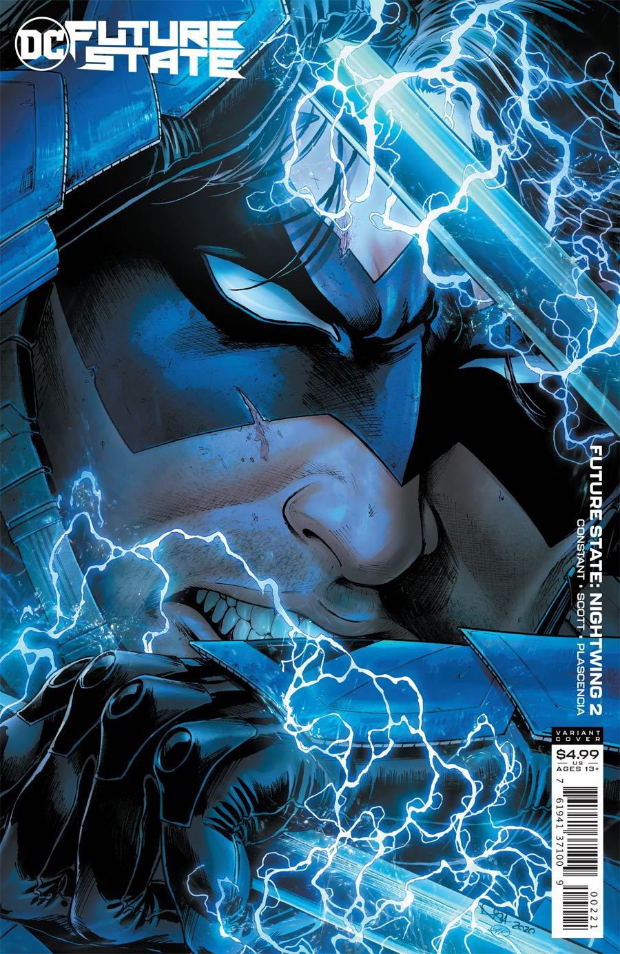 Future State Nightwing #2 Cover B Variant Nicola Scott Card Stock Cover