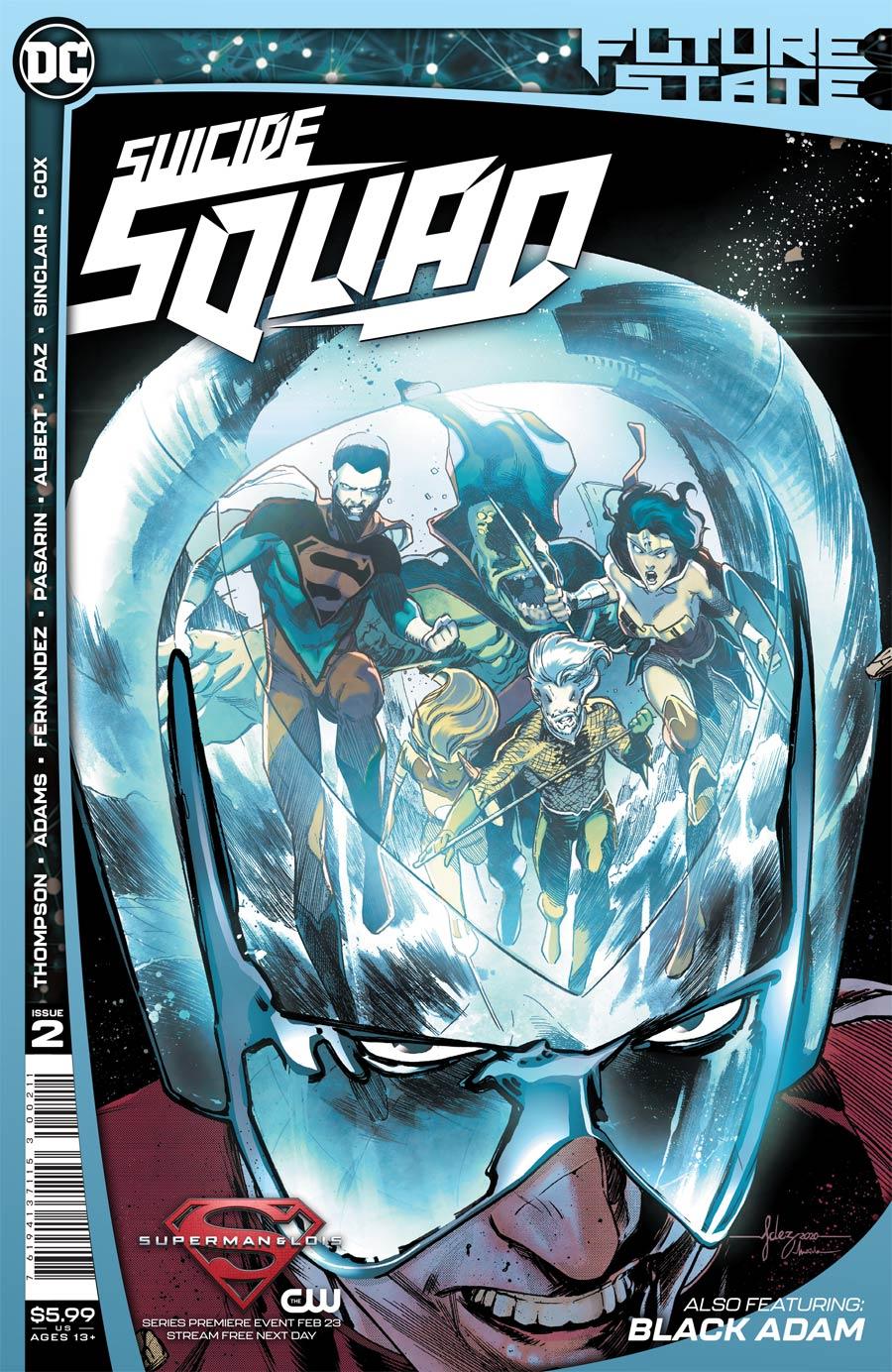 Future State Suicide Squad #2 Cover A Regular Javi Fernandez Cover