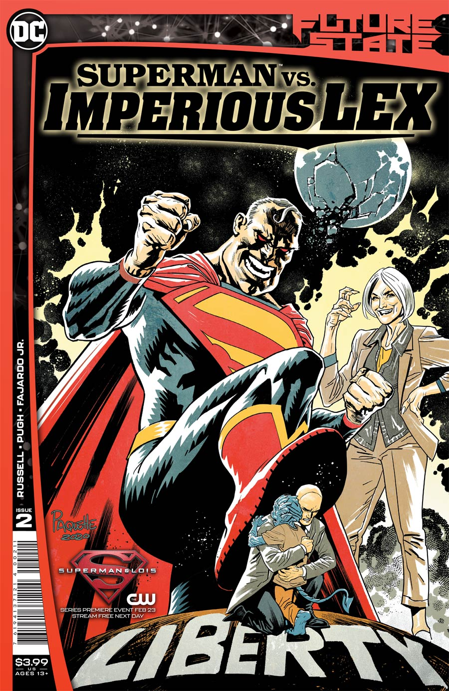 Future State Superman vs Imperious Lex #2 Cover A Regular Yanick Paquette Cover