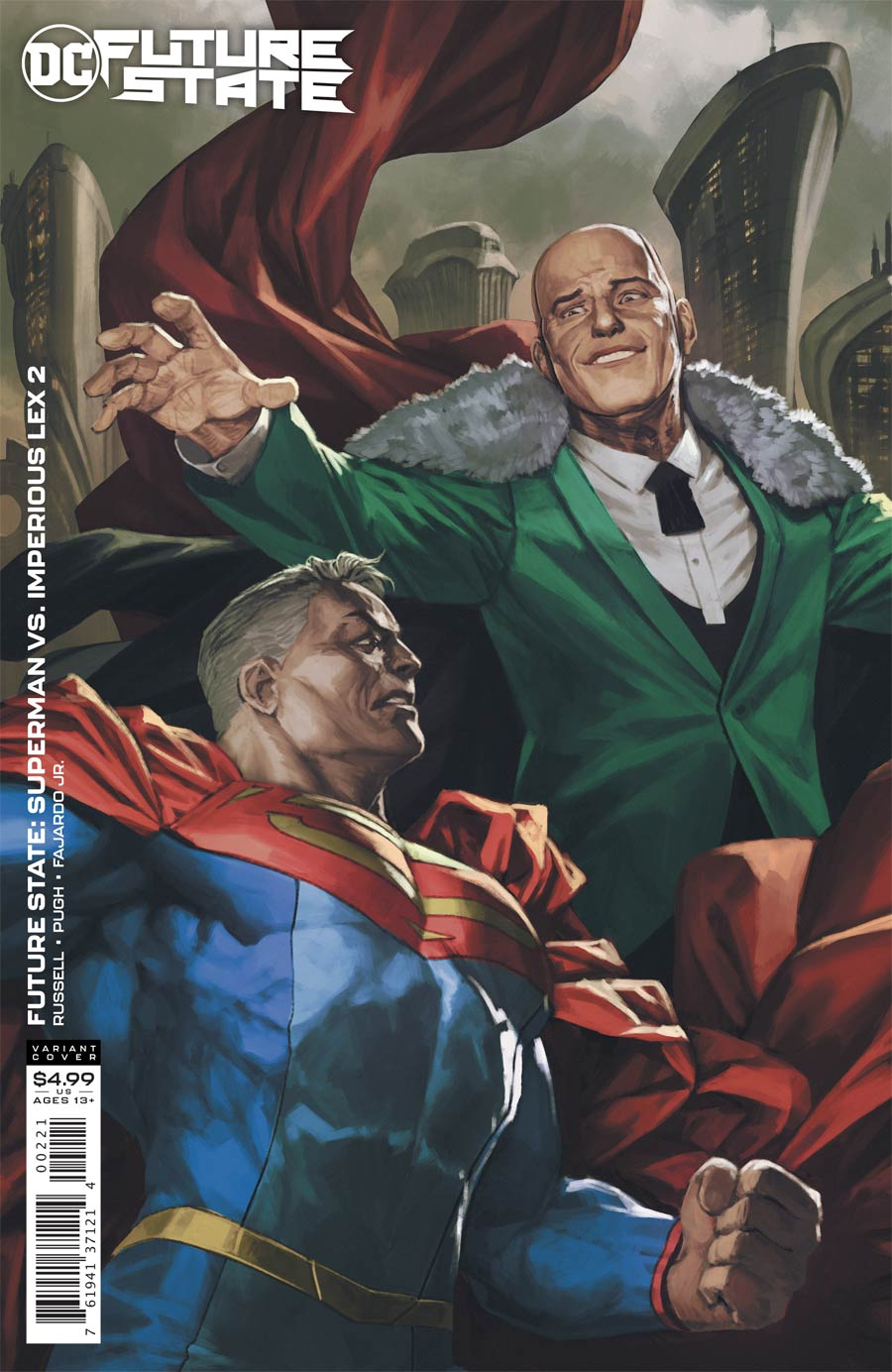 Future State Superman vs Imperious Lex #2 Cover B Variant Skan Card Stock Cover