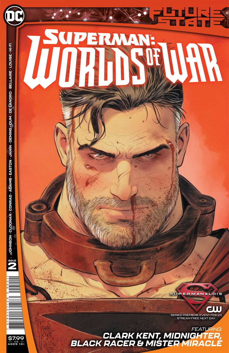 Future State Superman Worlds Of War #2 Cover A Regular Mikel Janin Cover