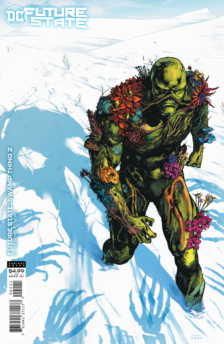 Future State Swamp Thing #2 Cover B Variant Dima Ivanov Card Stock Cover