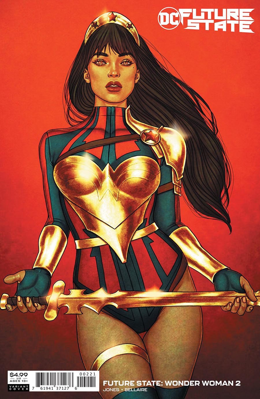 Future State Wonder Woman #2 Cover B Variant Jenny Frison Card Stock Cover