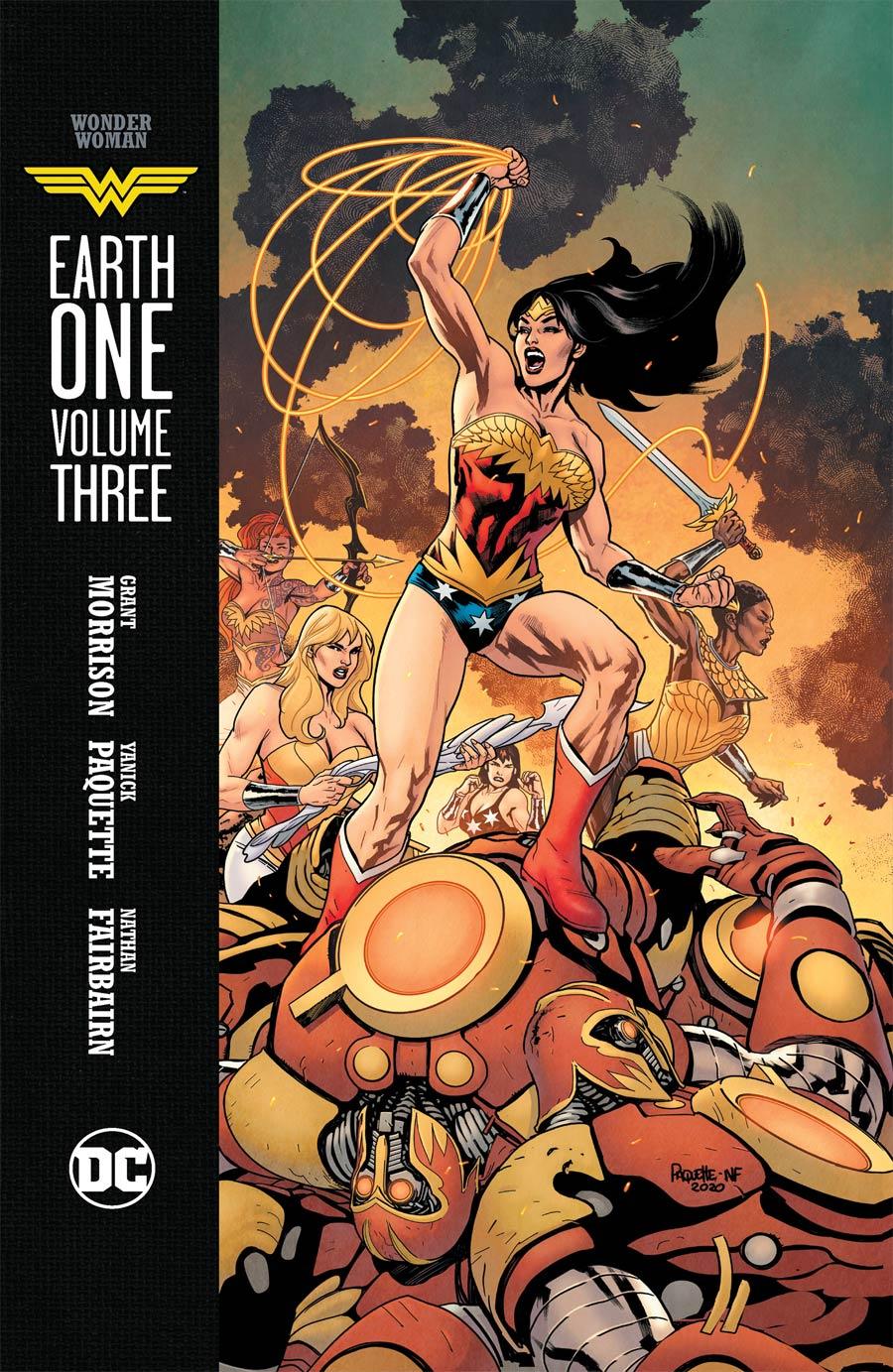 Wonder Woman Earth One Vol 3 HC