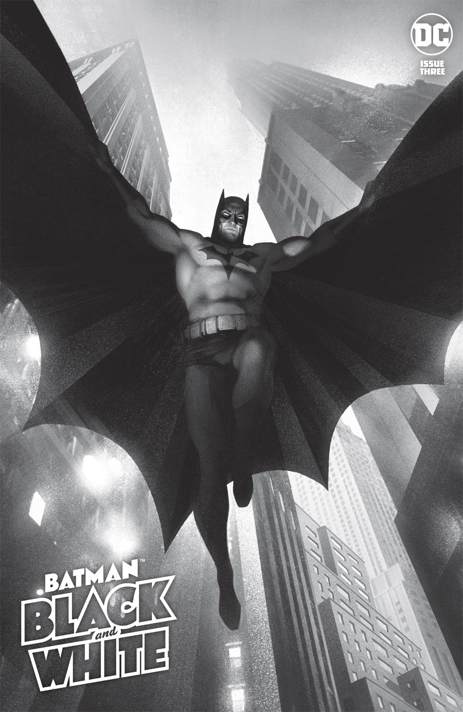 Batman Black & White Vol 3 #3 Cover A Regular Joshua Middleton Cover