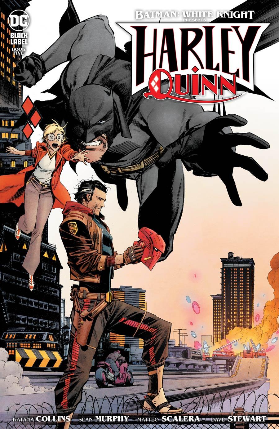 Batman White Knight Presents Harley Quinn #5 Cover A Regular Sean Murphy Cover