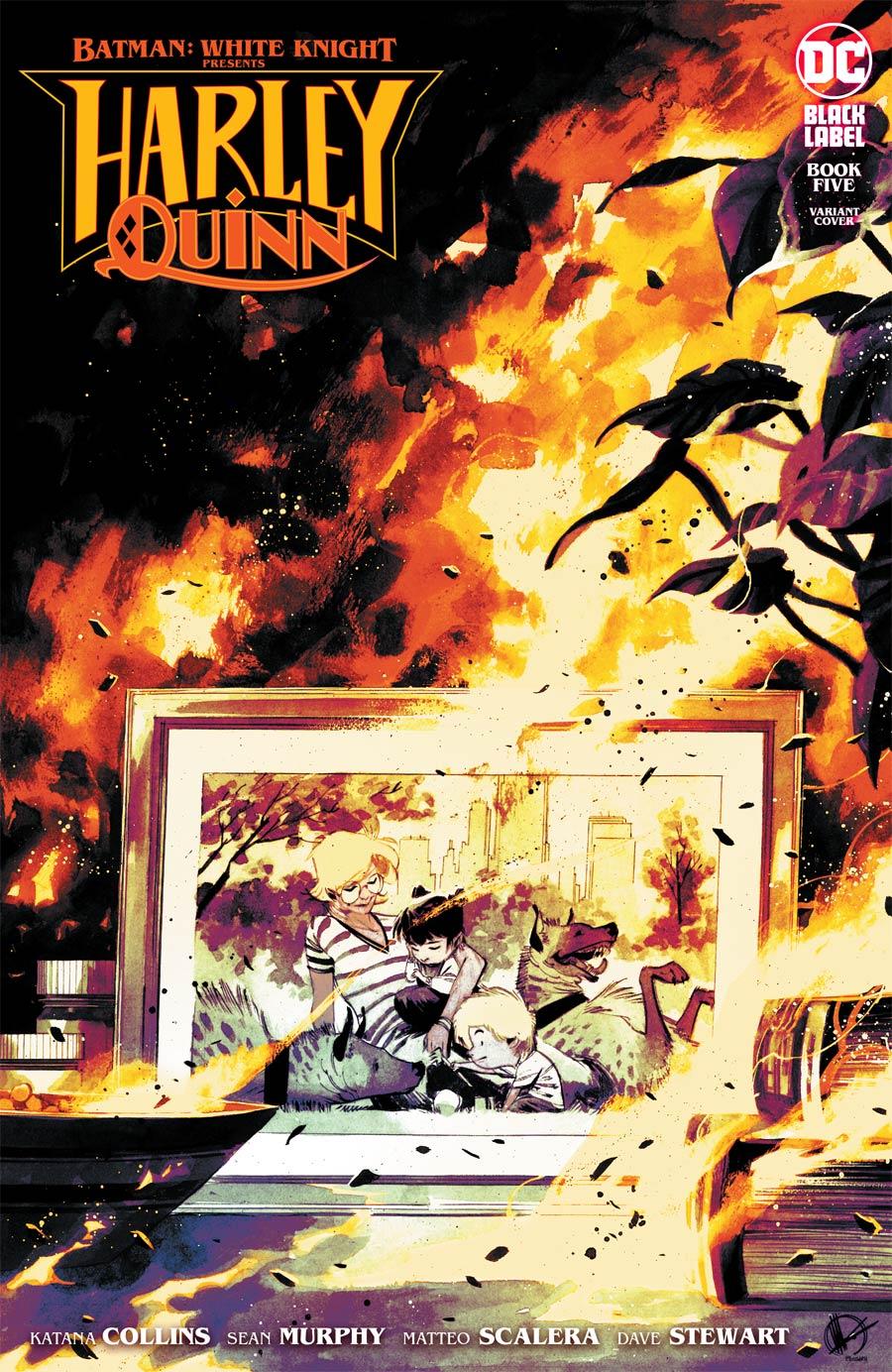 Batman White Knight Presents Harley Quinn #5 Cover B Variant Matteo Scalera Cover