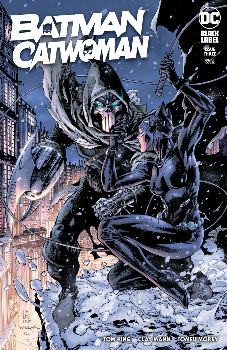 Batman Catwoman #3 Cover B Variant Jim Lee & Scott Williams Cover