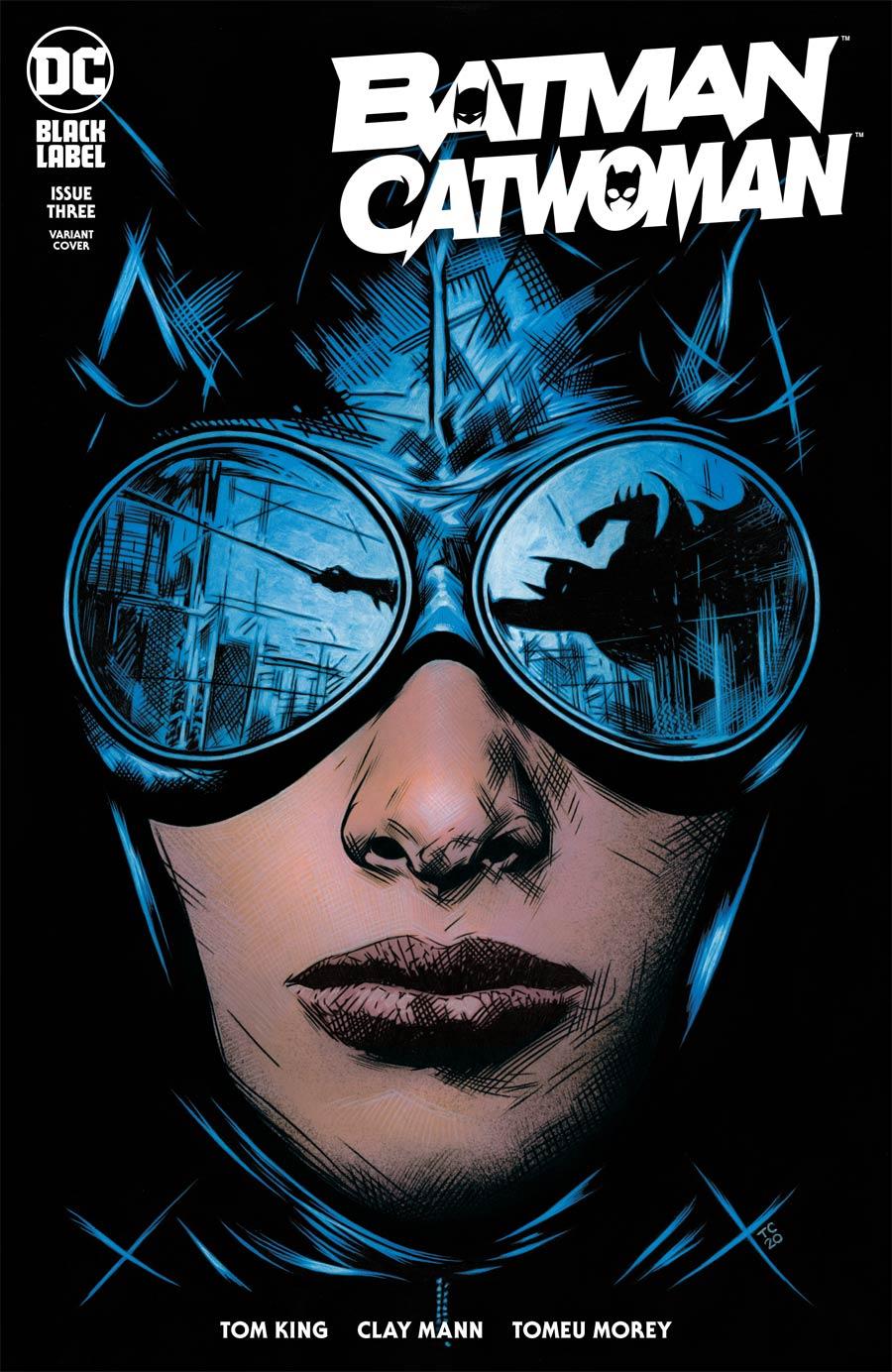 Batman Catwoman #3 Cover C Variant Travis Charest Cover