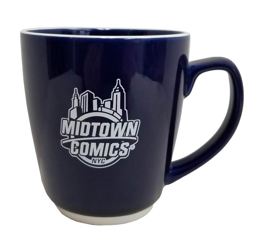 Midtown Comics White Logo 20-Ounce Mug