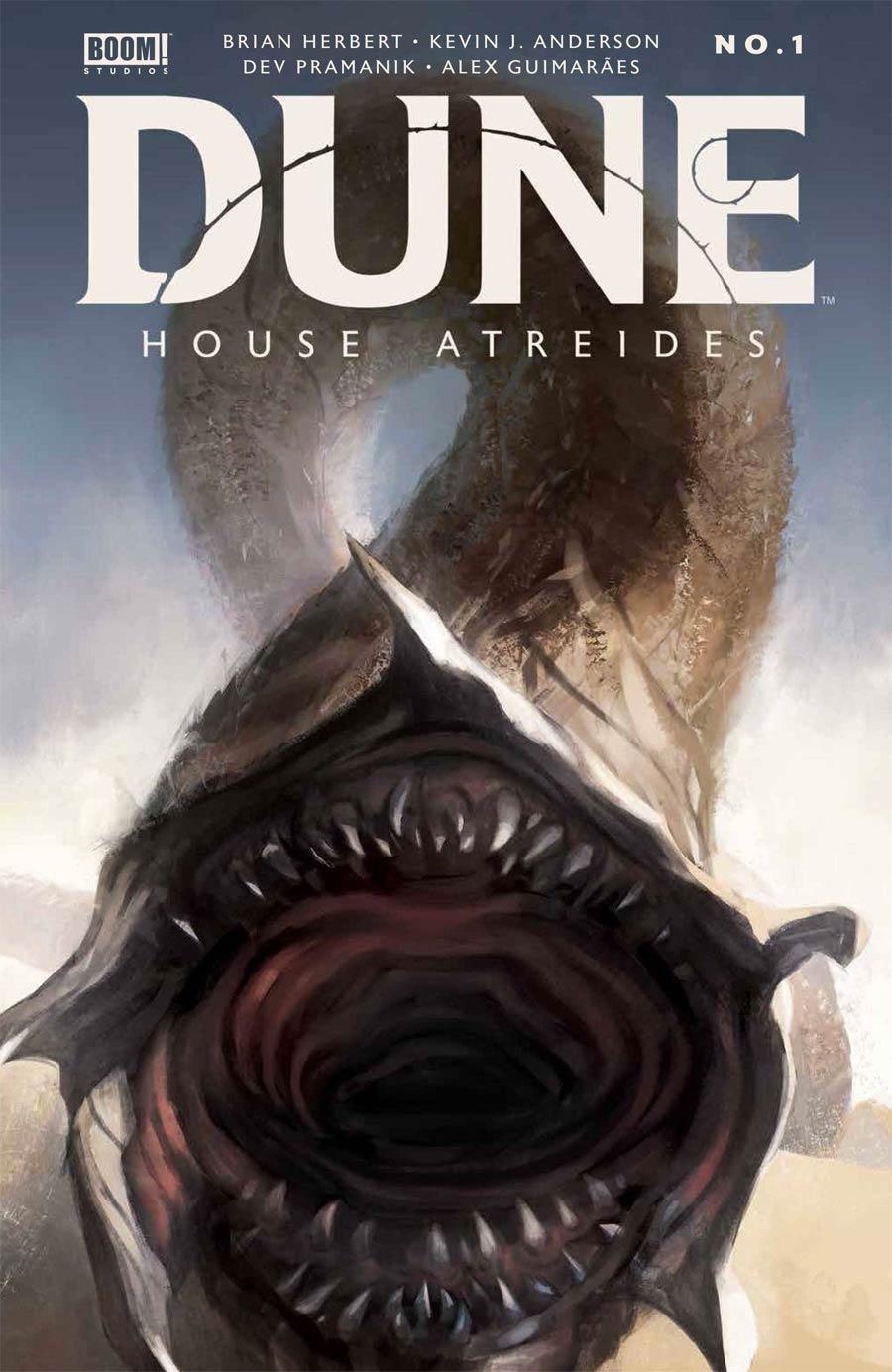 Dune House Atreides #1 Cover K 3rd Ptg