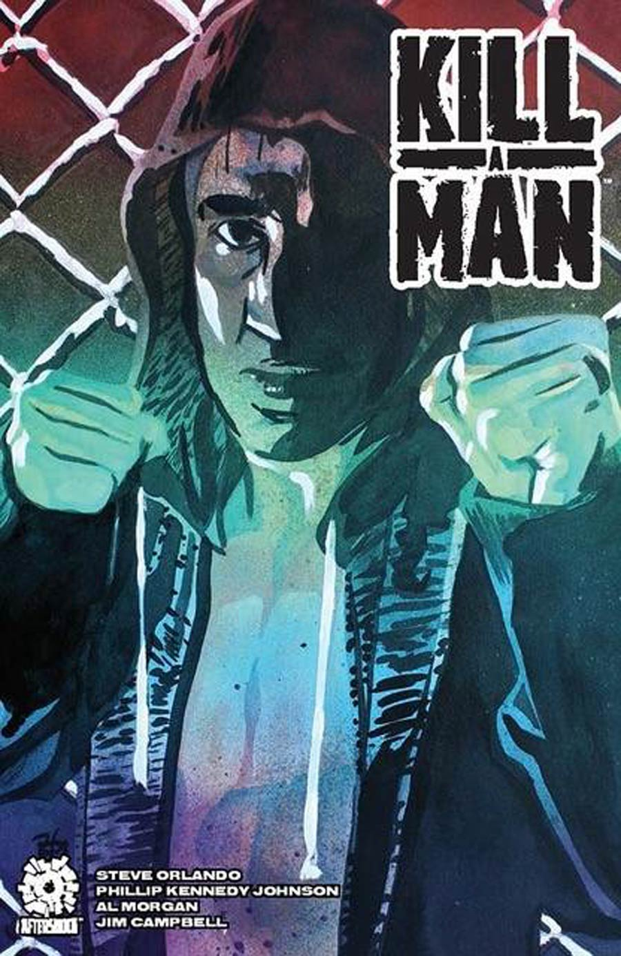 Kill A Man GN Incentive Rob Schamberger Variant Cover