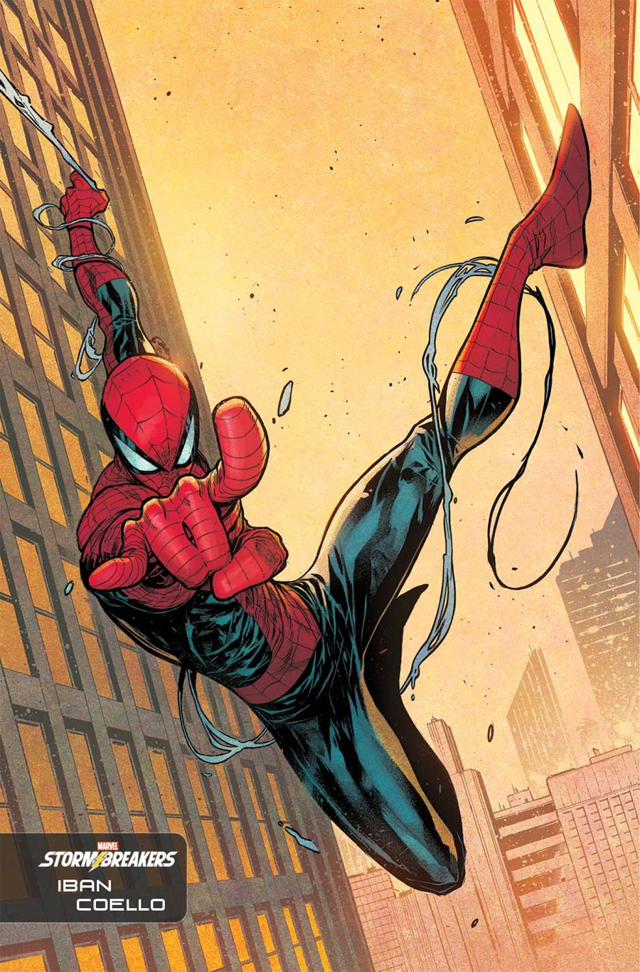 Amazing Spider-Man Vol 5 #54 Cover E Incentive Iban Coello Stormbreakers Variant Cover