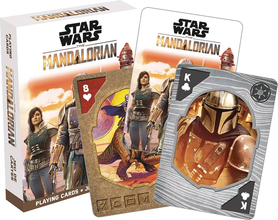 Star Wars The Mandalorian Playing Cards - Bounty Hunters