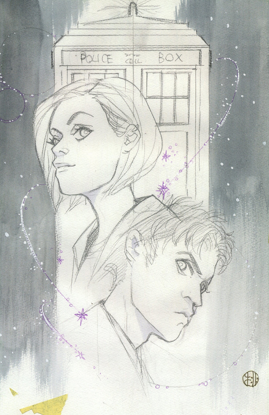 Doctor Who Comic #2 Cover D Variant Peach Momoko Sketch Cover