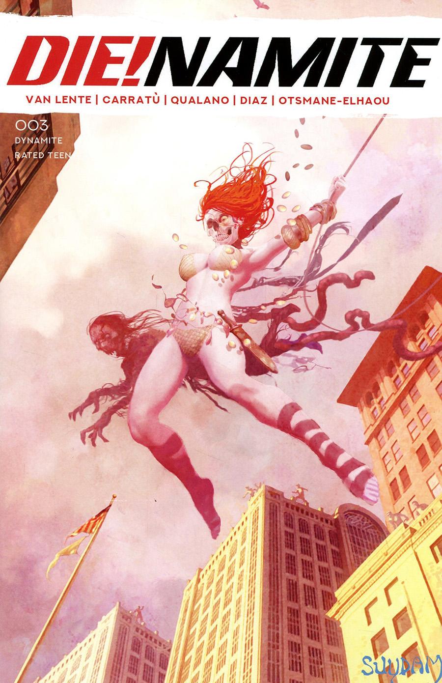 DieNamite #3 Cover E Variant Arthur Suydam Spider-Man Zombie Homage Cover