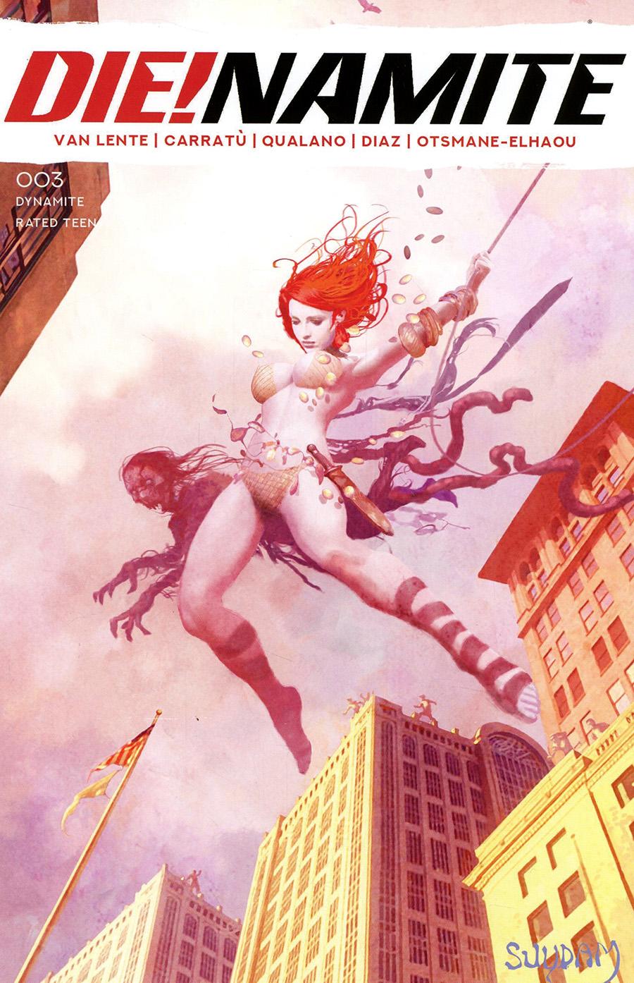 DieNamite #3 Cover I Variant Arthur Suydam Spider-Man Non-Zombie Homage Cover