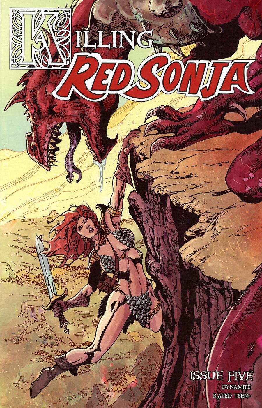 Killing Red Sonja #5 Cover C Variant Roberto Castro Cover