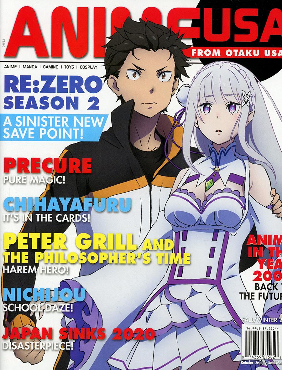 Otaku USA Presents Anime USA Vol 7 #2 Fall / Winter 2020