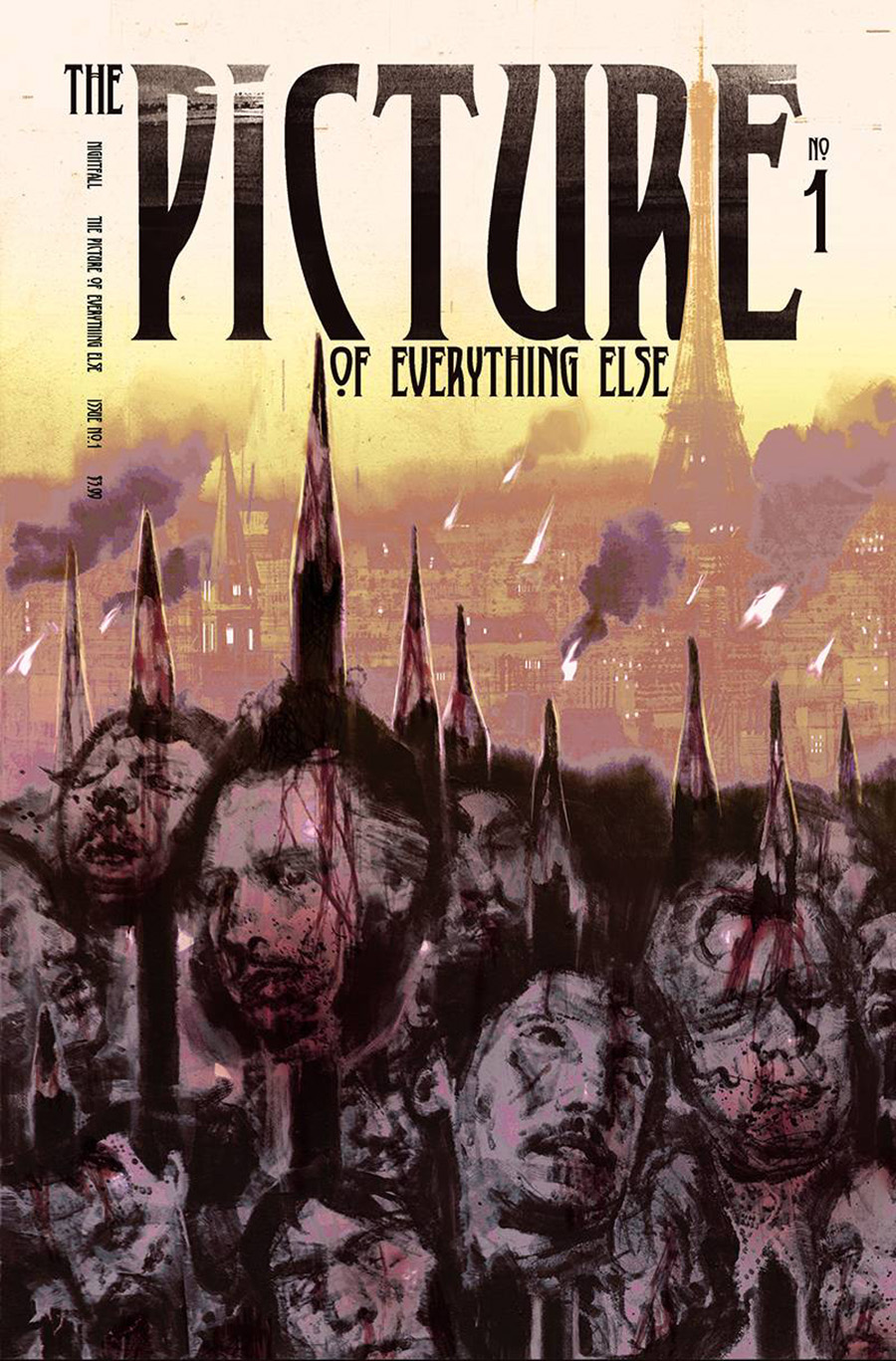 Picture Of Everything Else #1 Cover E Incentive Anand Radhakrishnan Deluxe Foil Variant Cover