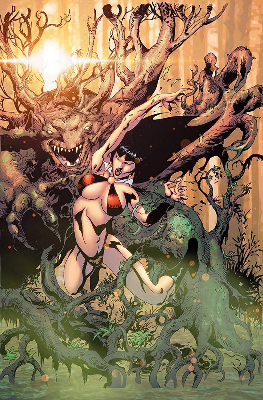 Vengeance Of Vampirella Vol 2 #13 Cover H Incentive Roberto Castro Virgin Cover