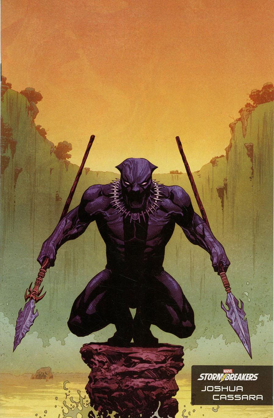 Avengers Vol 7 #40 Cover G Incentive Joshua Cassara Stormbreakers Variant Cover