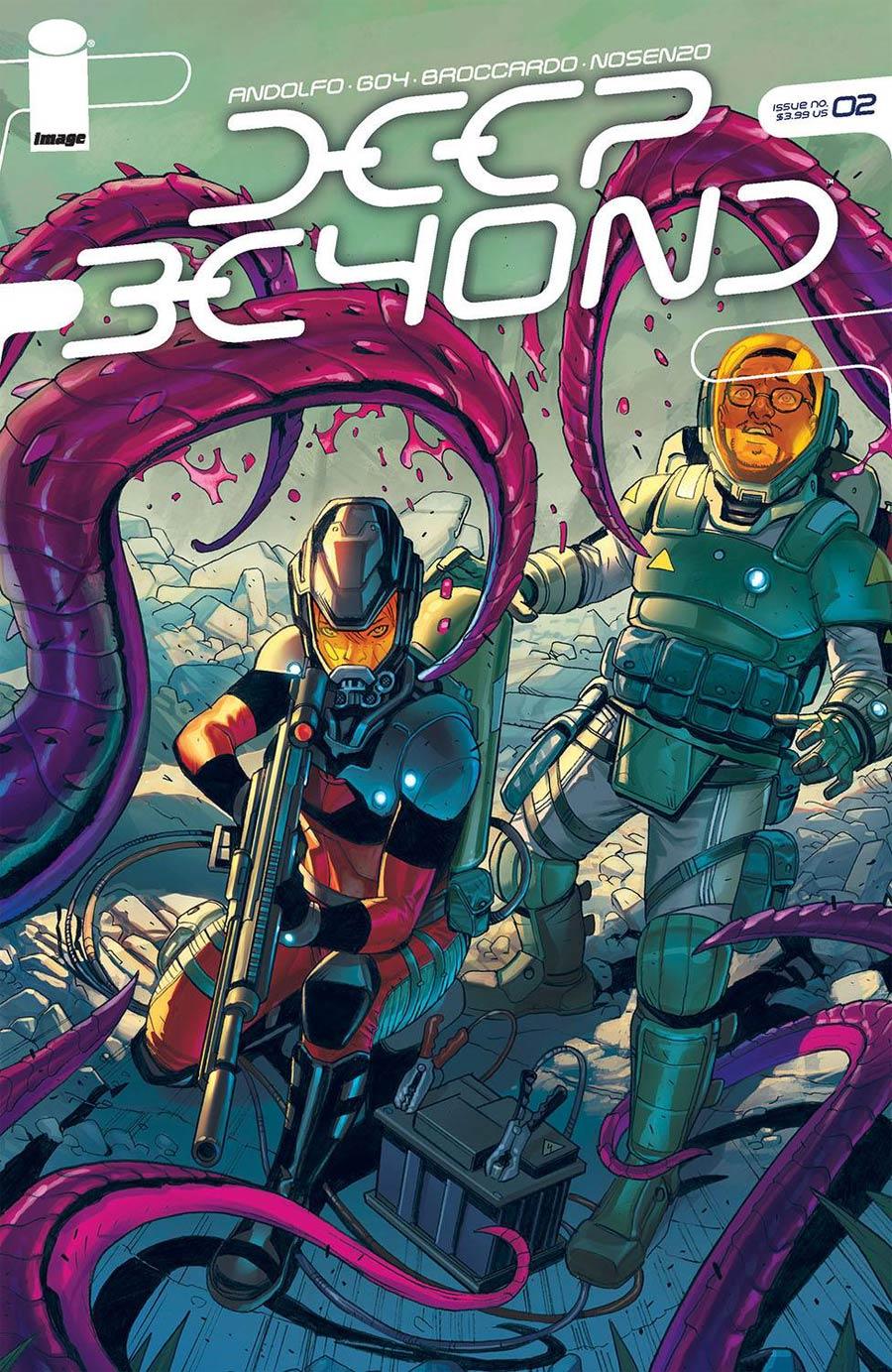 Deep Beyond #2 Cover A Regular Andrea Broccardo Cover
