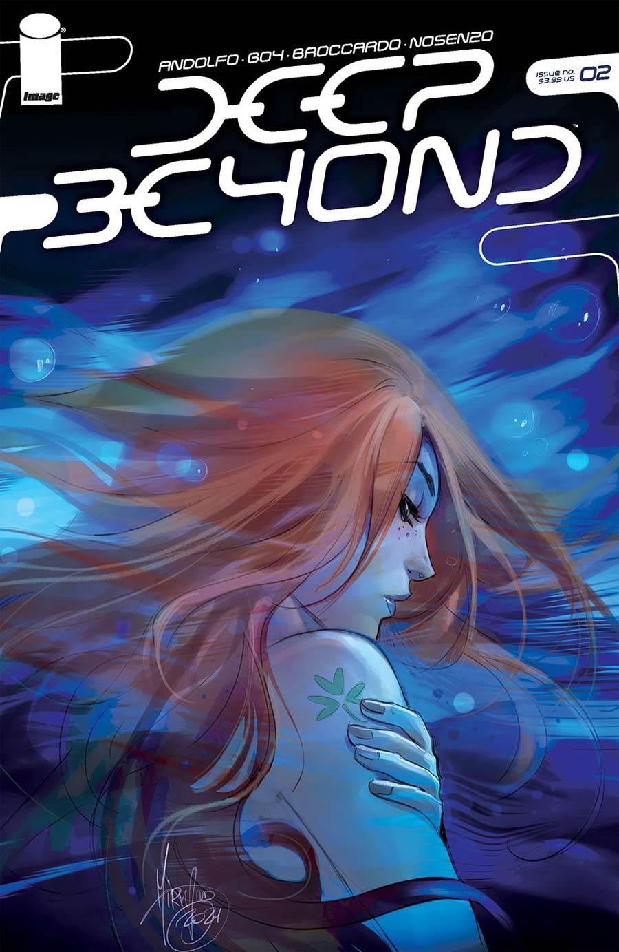 Deep Beyond #2 Cover B Variant Mirka Andolfo Cover