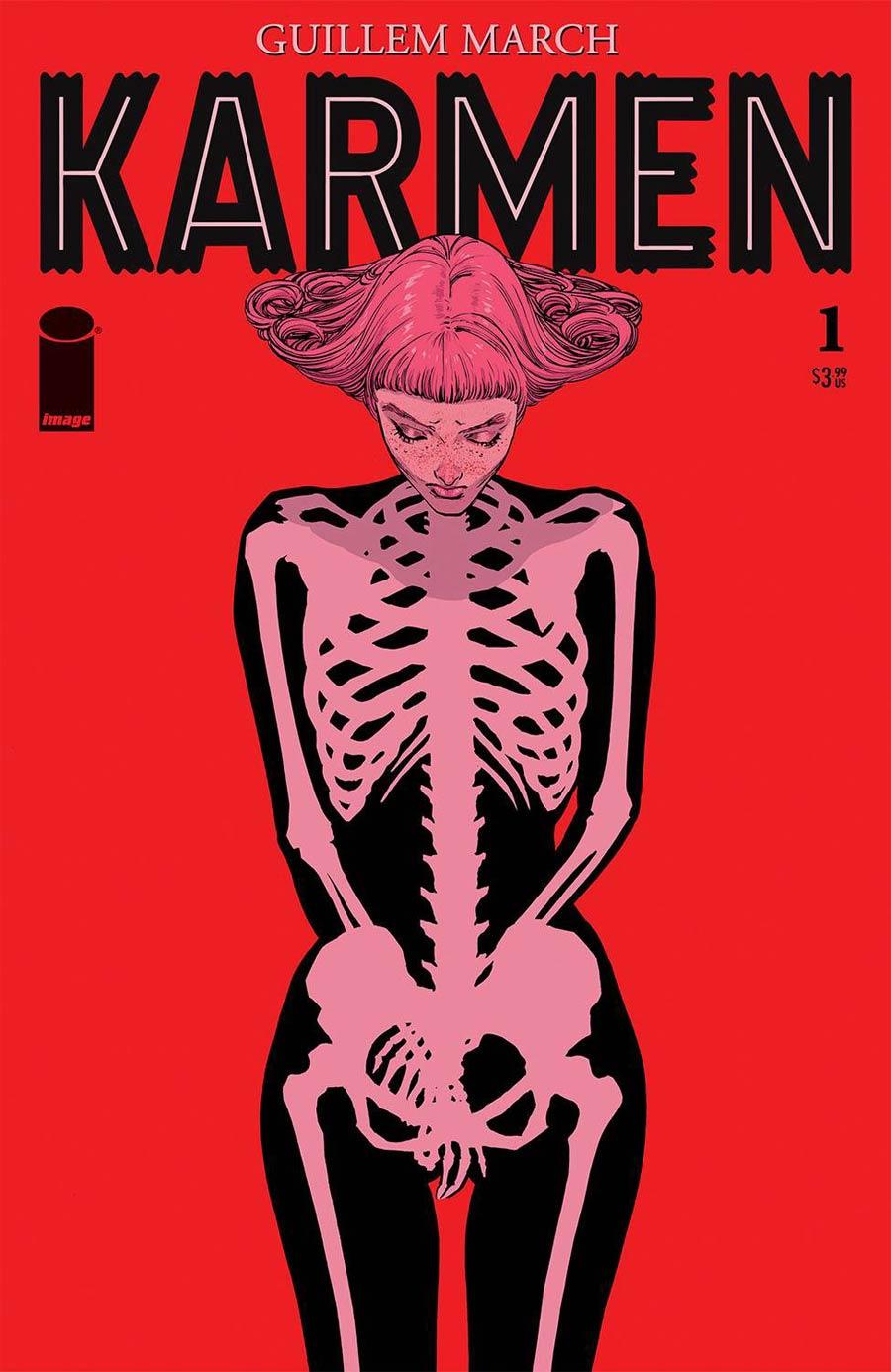 Karmen #1 Cover A Regular Guillem March Cover