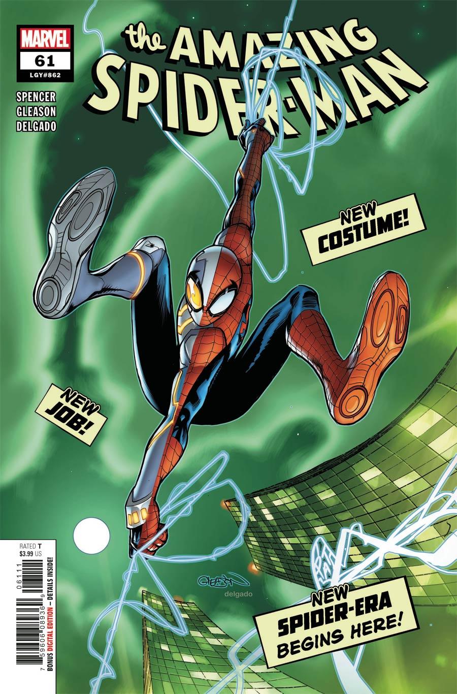 Amazing Spider-Man Vol 5 #61 Cover A Regular Patrick Gleason Cover